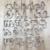 Alphabet Teacher's Font Lowercase XL